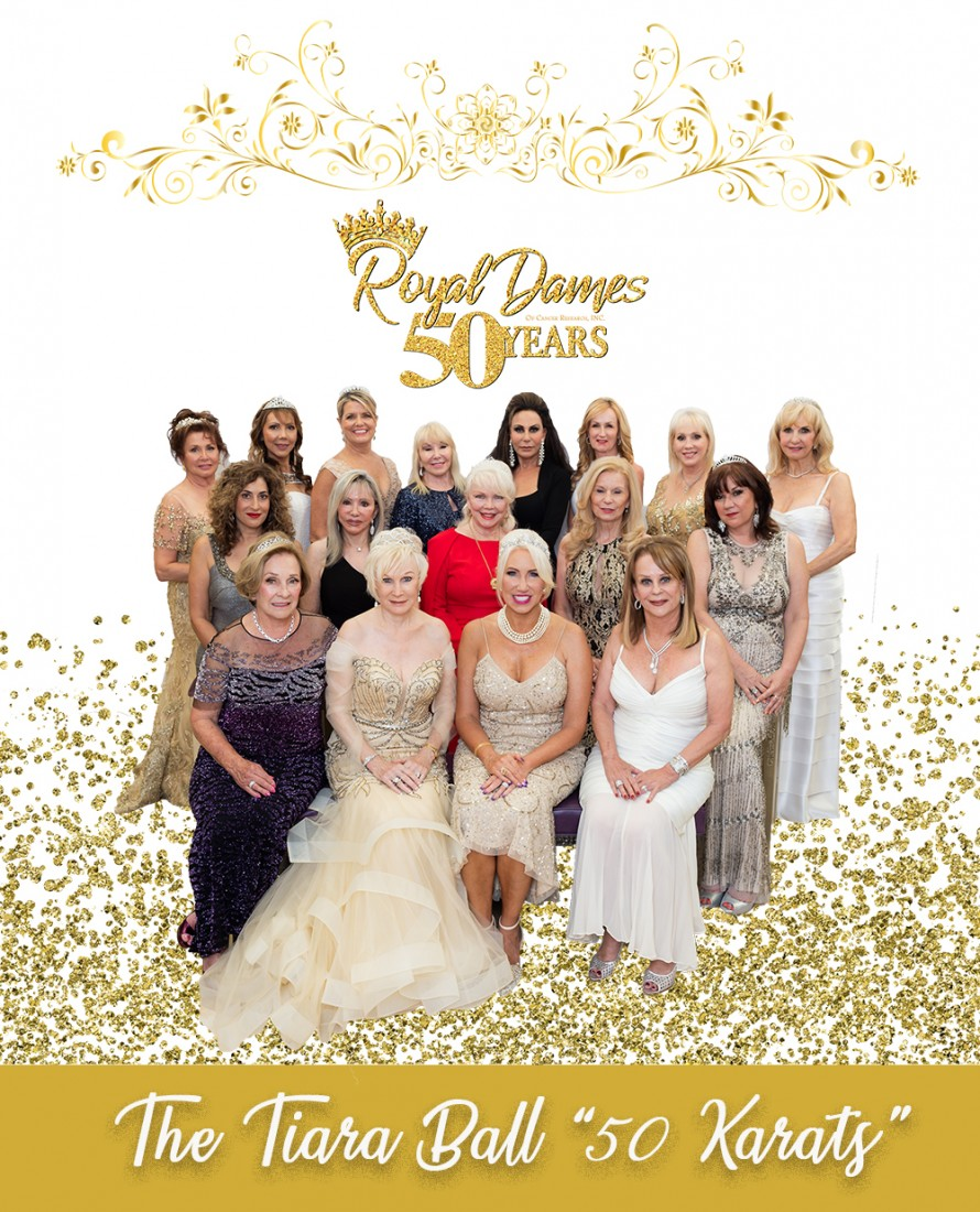 Tiara Ball - Royal Dames of Cancer Research - 2019RoyalDamesFullGroupWeb