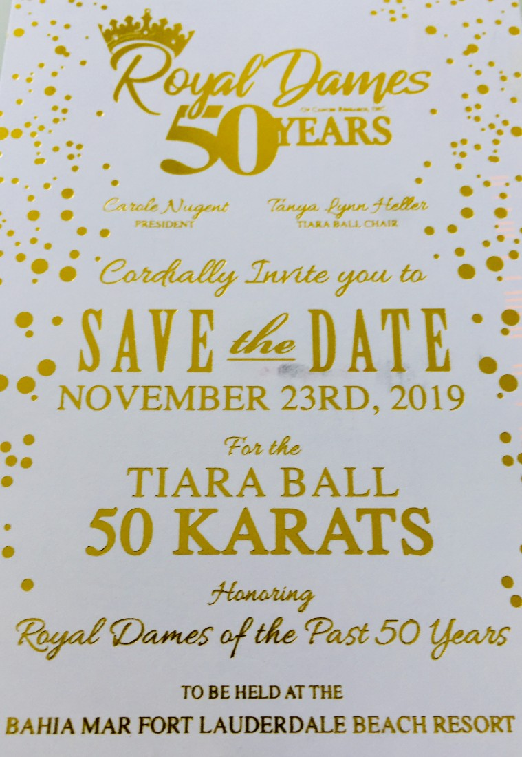 Events - Royal Dames of Cancer Research - 2019_Tiara_Ball_Save_the_Date_Card